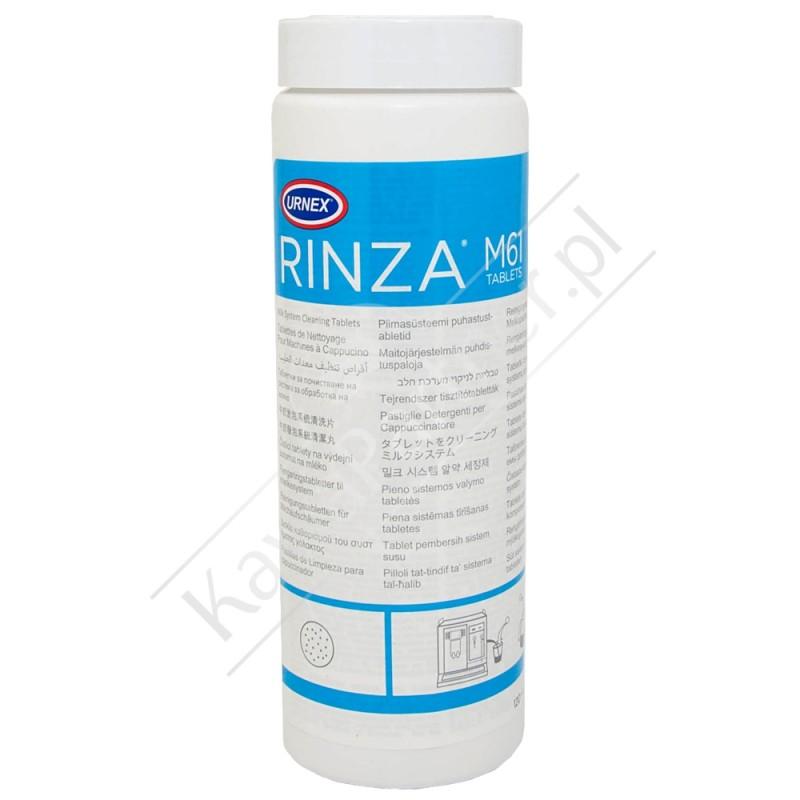 Tabletki do usuwania osadu mleka URNEX Rinza 120 szt