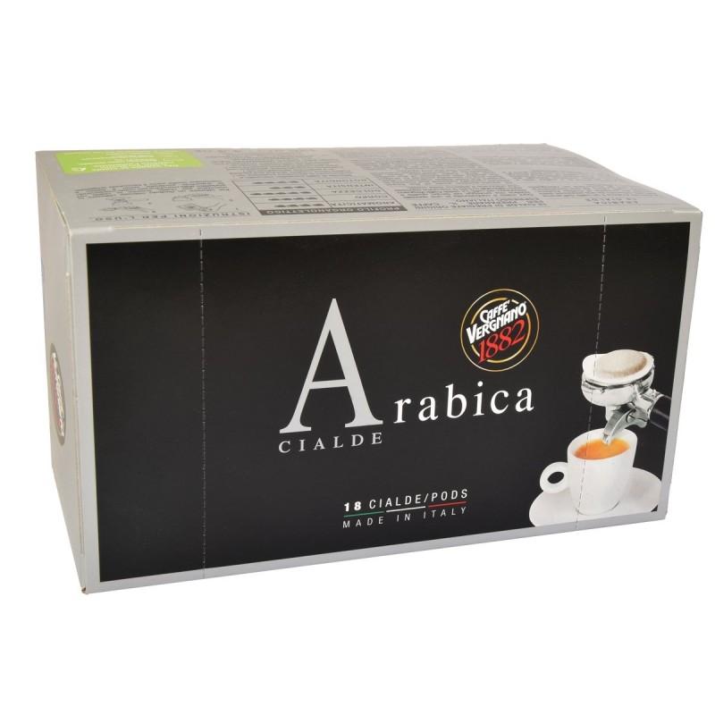 Vergnano 100% Arabika kawa saszetki ESE 18 szt