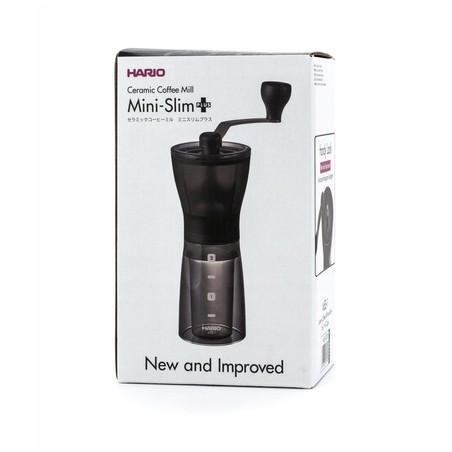 Hario SLIM PLUS- ceramiczny, ręczny młynek do kawy