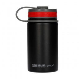 Asobu Mini Hiker butelka termiczna 355 ml - czarny