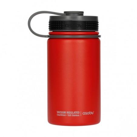 Asobu Mini Hiker termos 355 ml - czerwony