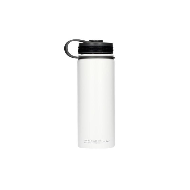 Asobu Alpine Flask Butelka termiczna 530 ml biały