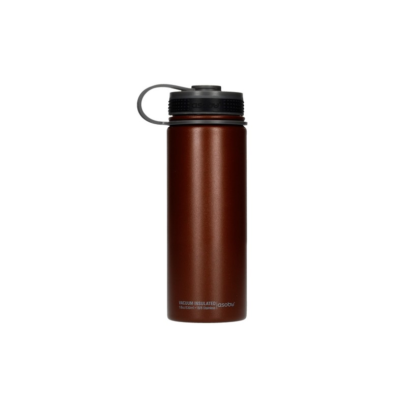 Asobu Alpine Flask termos 530 ml brązowy