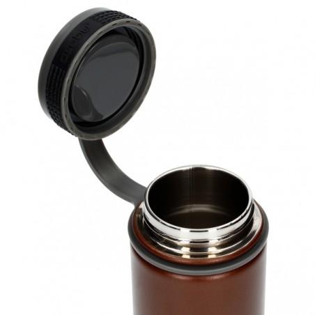 Asobu Alpine Flask Butelka termiczna 530 ml brązowy