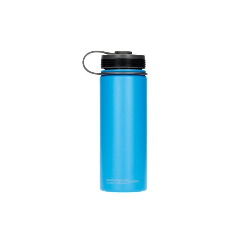 Asobu Alpine Flask Butelka termiczna 530 ml niebieski
