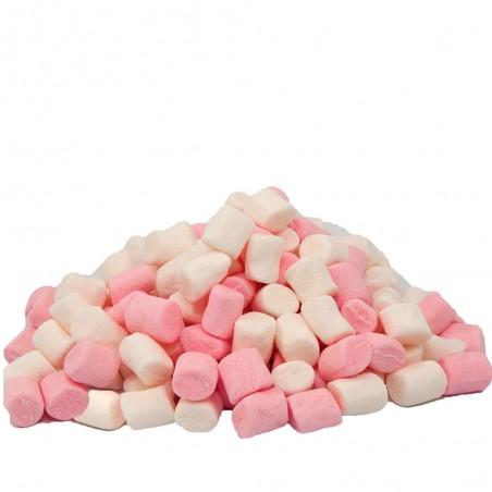 Pianki Marshmallow Mini 1kg biało-różowe do deseru