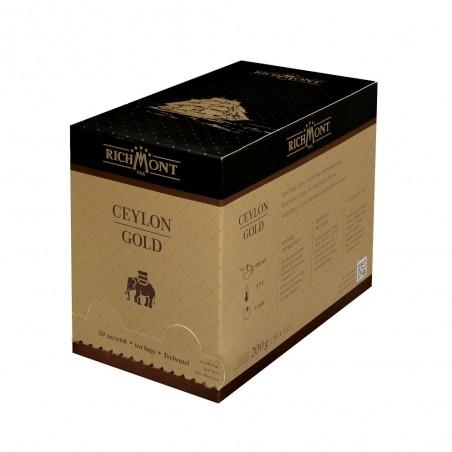 Herbata czarna Richmont Ceylon Gold 50 saszetek