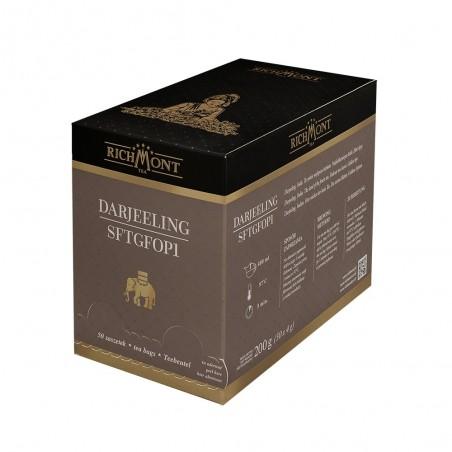Herbata czarna Richmont Darjeeling SFTGFOP1 50 saszetek