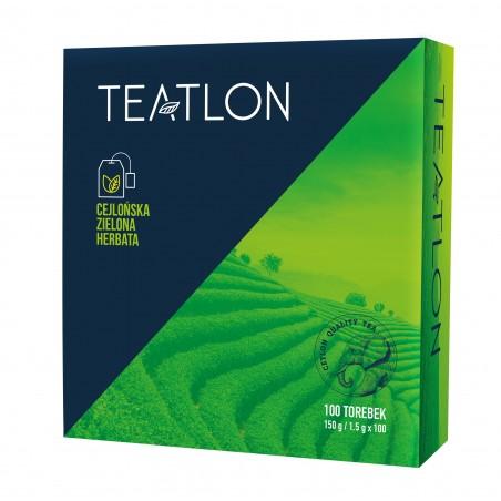 Herbata zielona Teatlon klasyczna 100 saszetek