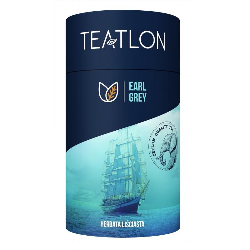 Herbata czarna Teatlon Earl Grey liściasta 80g