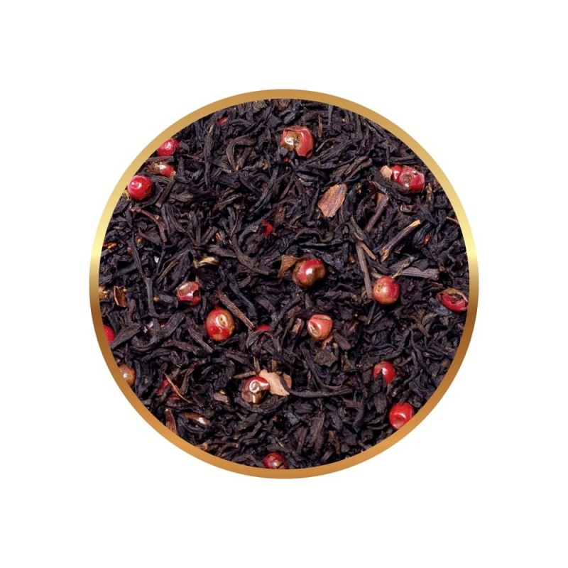 Herbata czarna Richmont Black Chilli Chocolate 50 saszetek