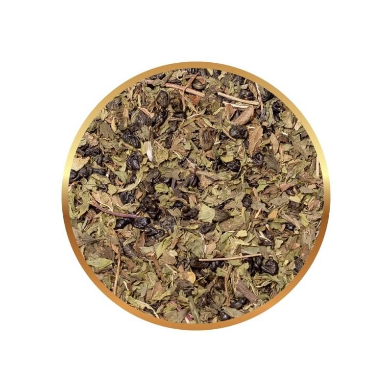 Herbata zielona Richmont Peppermint Green 50 saszetek