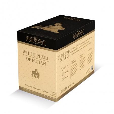 Herbata biała Richmont White Pearl of Fujian 50 saszetek