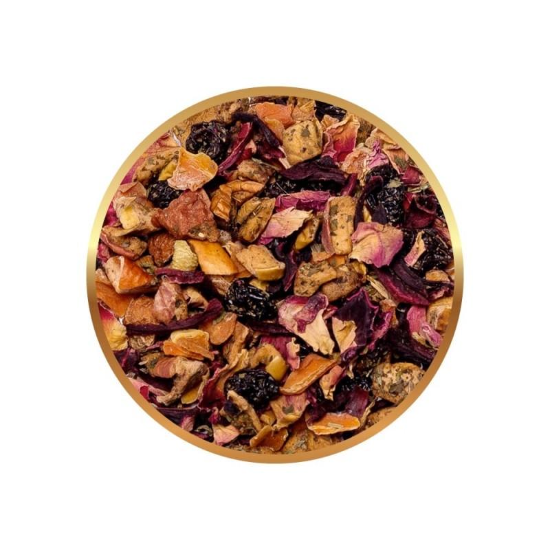 Herbata owocowa Richmont Melon Mint 50 saszetek