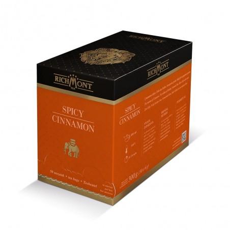 Herbata owocowa Richmont Spicy Cinnamon 50 saszetek