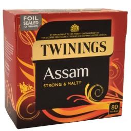 Herbata Angielska czarna Twinings Assam Strong 80 szt