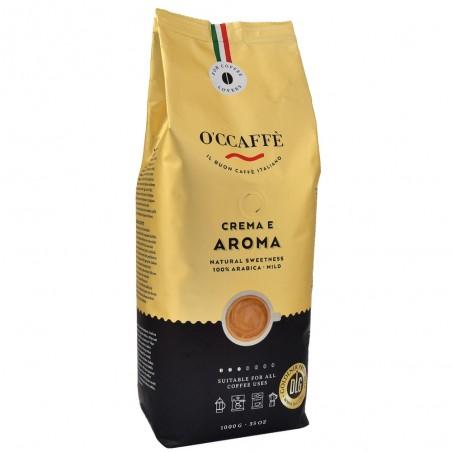Kawa Ziarnista O'ccaffe Crema e Aroma 1kg