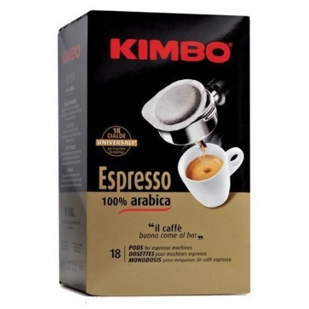 Kimbo Espresso 100% Arabica kawa saszetki ESE 18 szt
