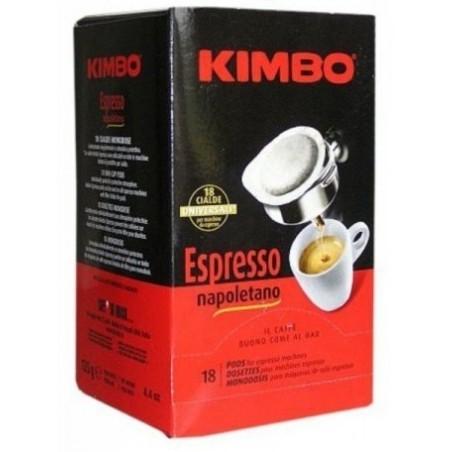 Kimbo Espresso Napoletano kawa saszetki ESE 18 szt