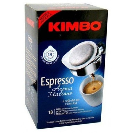Kimbo Aroma Italiano kawa saszetki ESE 18 szt