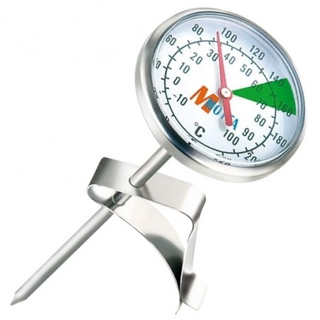 Termometr analogowy do spieniania mleka Motta