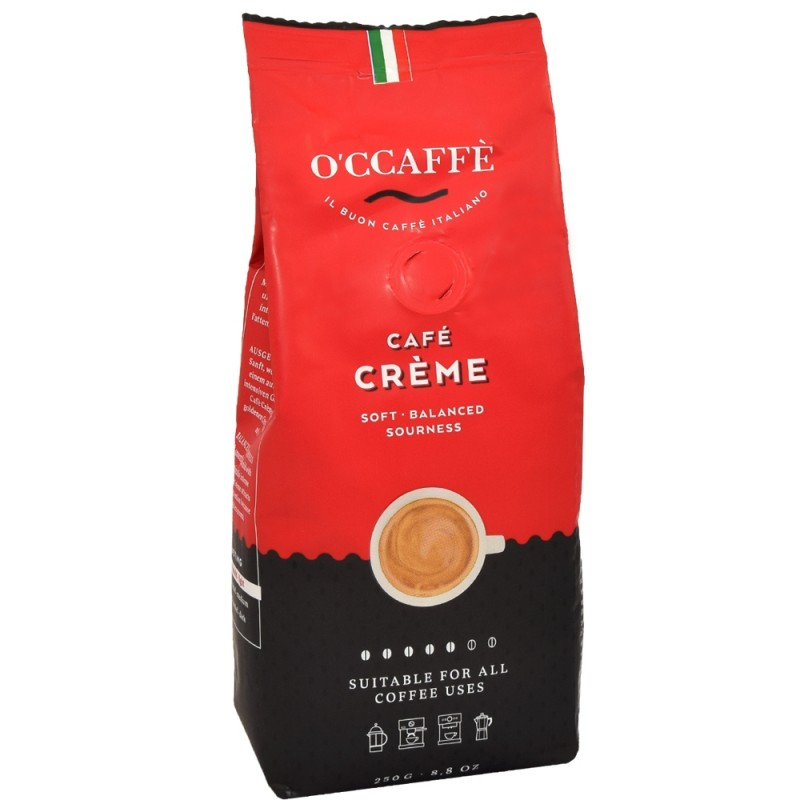 Kawa ziarnista O'CCAFFE Cafe Creme 250g