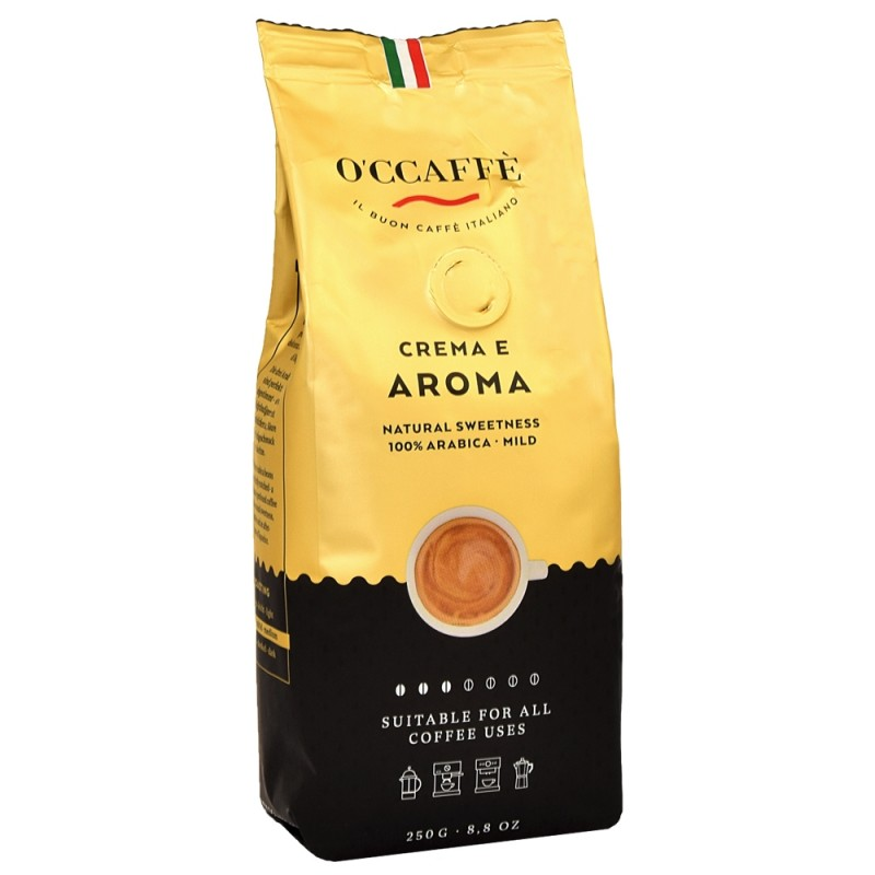 Kawa Ziarnista O'ccaffe Crema e Aroma 250g