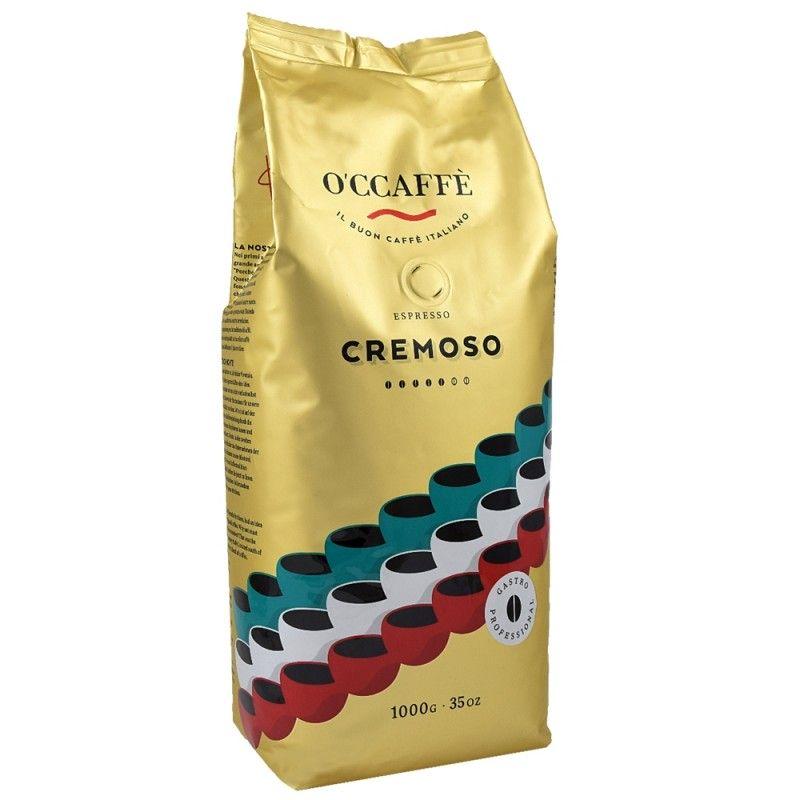Kawa ziarnista O'CCAFFE Espresso Cremoso 1kg