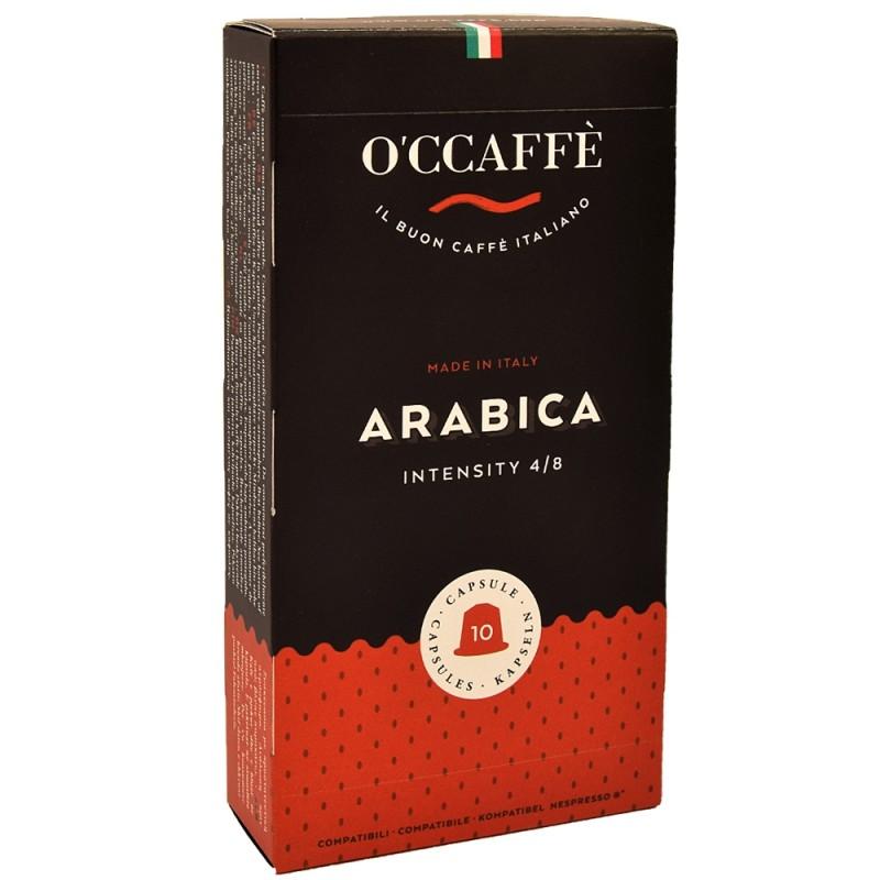 Kapsułki O'CCAFFE ARABICA do Nespresso 10szt