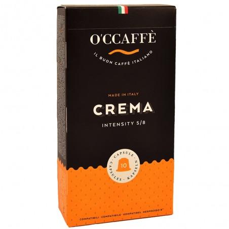 Kapsułki O'CCAFFE CREMA do Nespresso 10szt