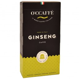 Kapsułki O'CCAFFE GINSENG do Nespresso 10szt