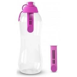 Butelka filtrująca Dafi 700 ml różowa + 2 filtry
