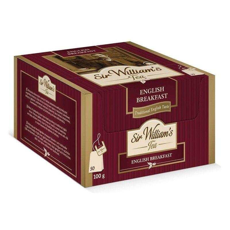 Herbata czarna Sir Williams Tea English Breakfast 50 saszetek