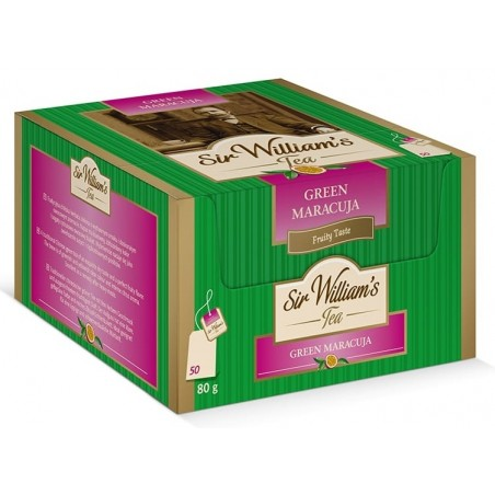 Herbata zielona Sir Williams Tea Green Maracuja 50 saszetek