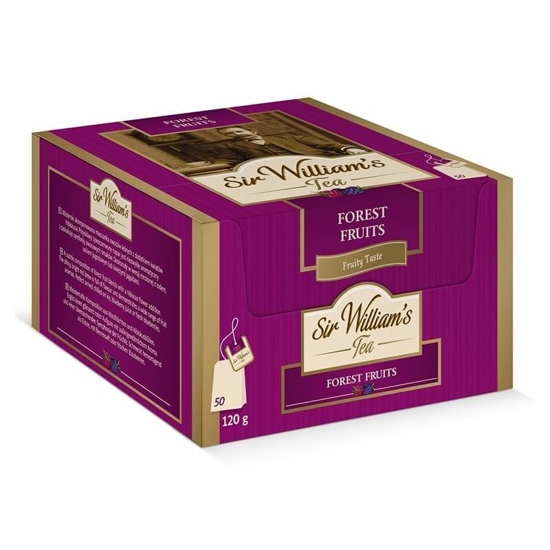 Herbata owocowa Sir Williams Tea Forest Fruit 50 saszetek