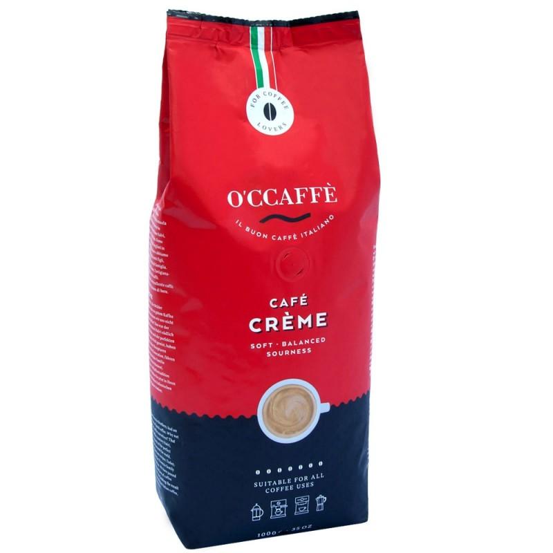 Kawa ziarnista O'CCAFFE Cafe Creme 1kg