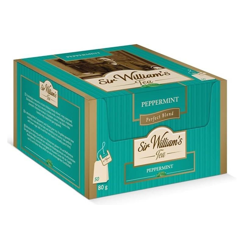 Herbata Sir Williams Tea Peppermint 50 saszetek