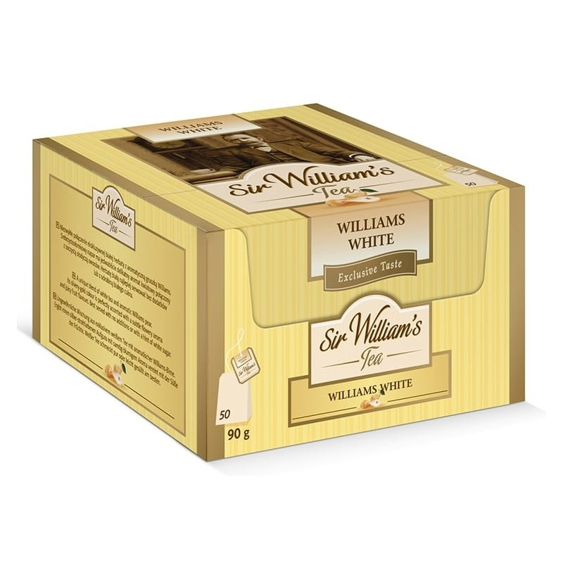 Herbata biała Sir Williams Tea White 50 saszetek