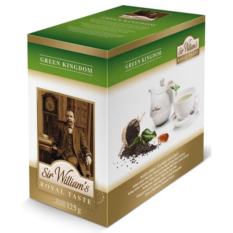 Herbata zielona Sir Williams Royal Green Kingdom 50 saszetek