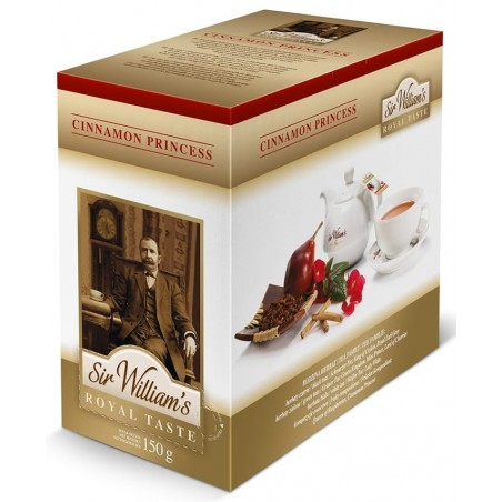 Herbata rooibos Sir Williams Royal Cinnamon Princess 50 saszetek