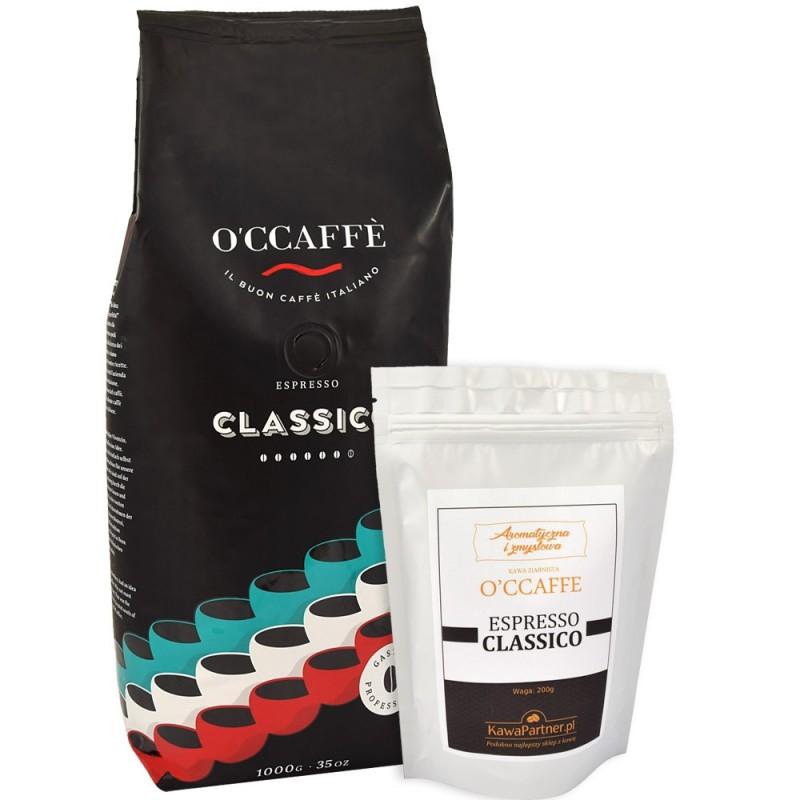Kawa ziarnista O'CCAFFE Proffesional Espresso Classico 200g