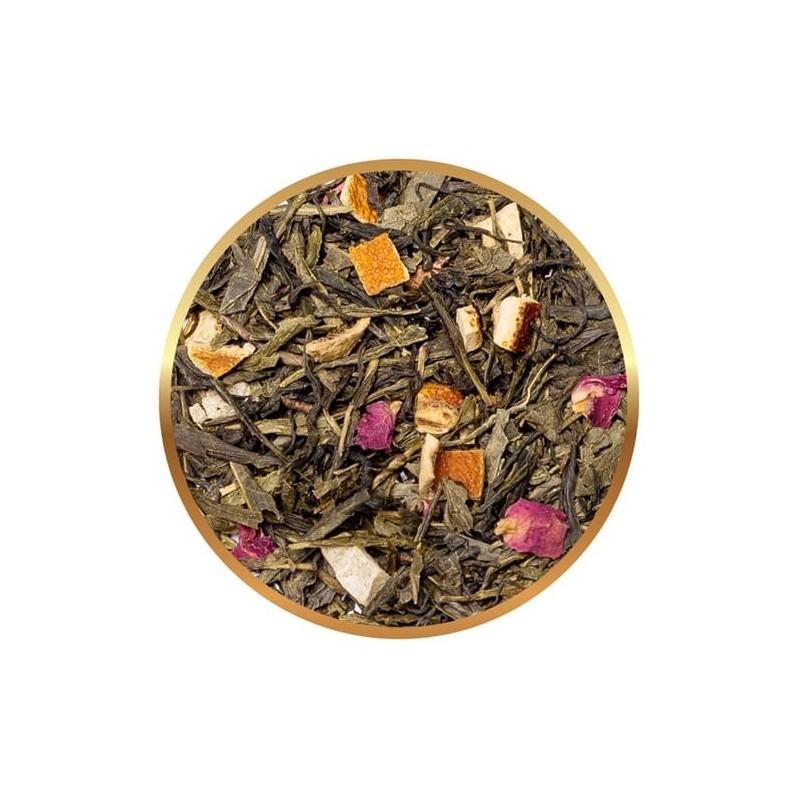 Herbata zielona Sir Williams Royal Lord Of Cherries 50 saszetek