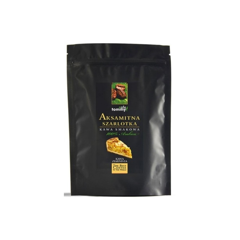 Kawa ziarnista smakowa Aksamitna Szarlotka 250g