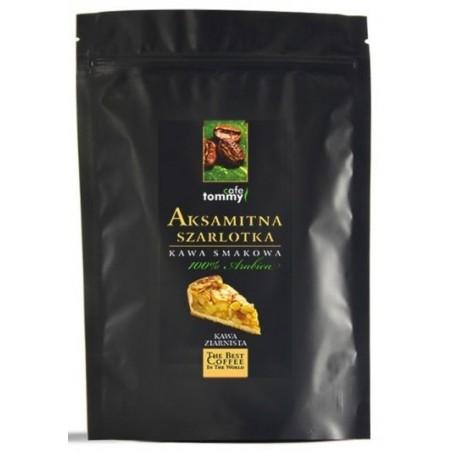 Kawa ziarnista smakowa Aksamitna Szarlotka Tommy Cafe 250g
