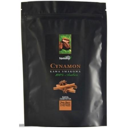 Kawa ziarnista smakowa Cynamon Tommy Cafe 250g