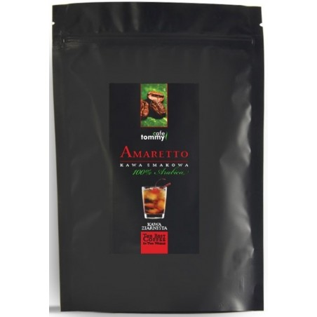 Kawa ziarnista smakowa Amaretto Tommy Cafe 250g