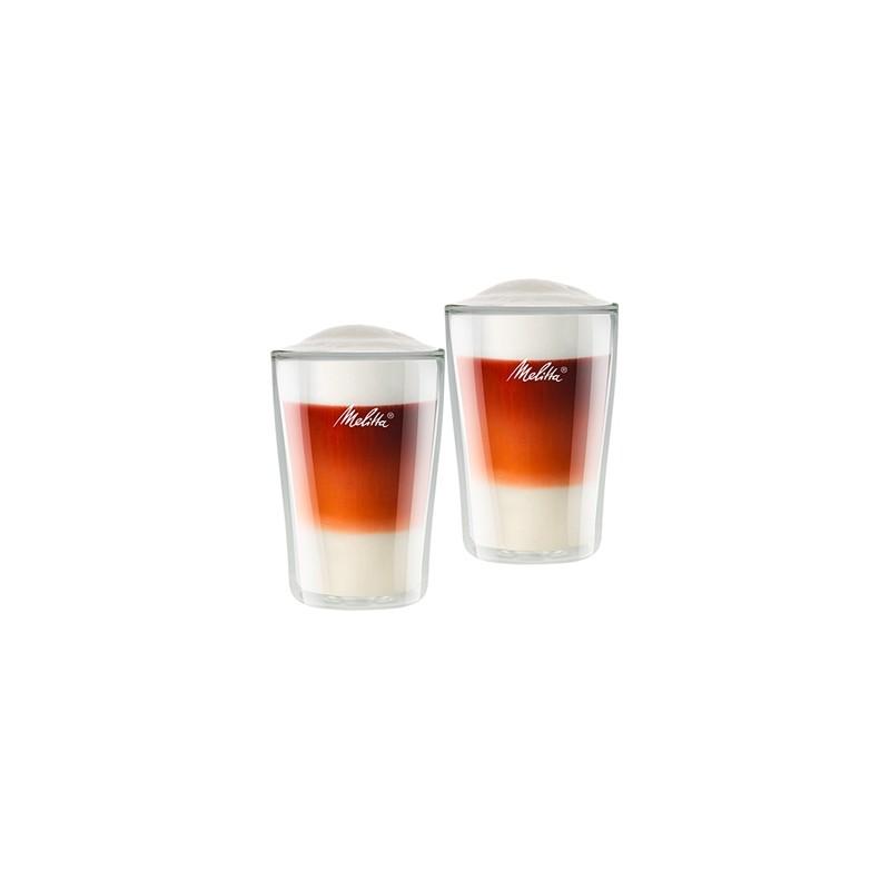Szklanki termiczne do Latte Melitta 2 szt 300 ml