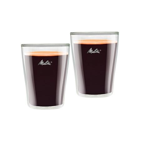 Szklanki termiczne do Americano/Caffe Crema Melitta 2 szt 200 ml