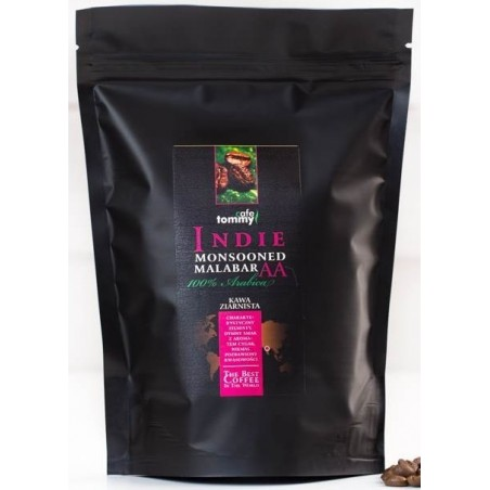 Kawa ziarnista Indie Monsooned Malabar Tommy Cafe 250g