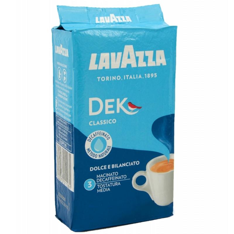 Kawa mielona bezkofeinowa LAVAZZA DEK 250g